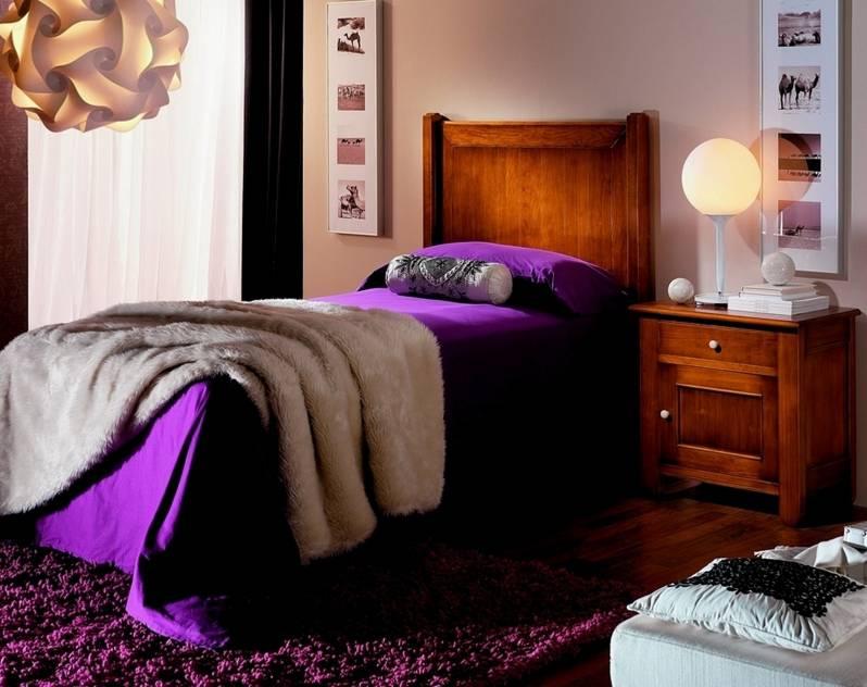 Dormitorio Juvenil en color Cerezo Anticuario