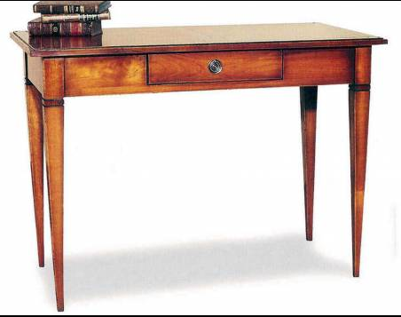 Escritorio Modelo Limoux fabricado en madera maciza de Cerezo y Tilo