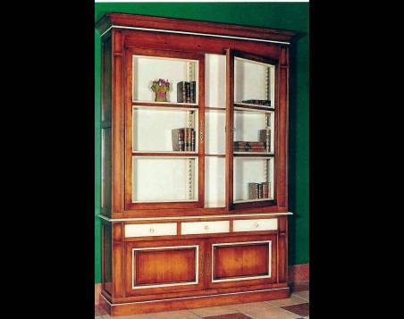 Vitrina París fabricada en madera maciza de estilo Clásico