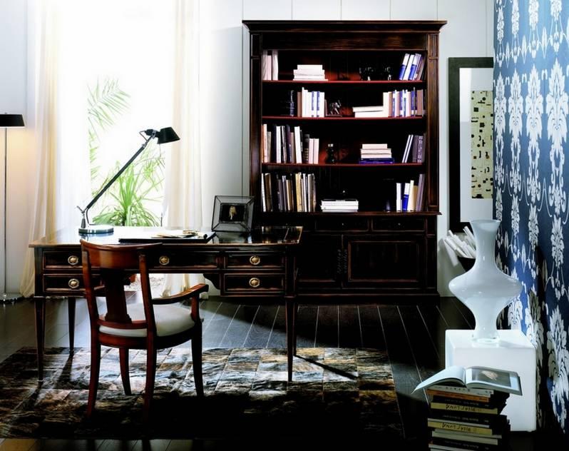 Conjunto de Despacho fabricado en madera de Cerezo Francés