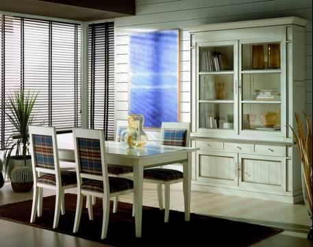 Conjunto de salón de madera maciza de Cerezo y Tilo de estilo Francés