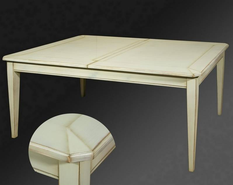 Mesa de Comedor Modelo Tívoli fabricada en madera maciza de Cerezo y Tilo
