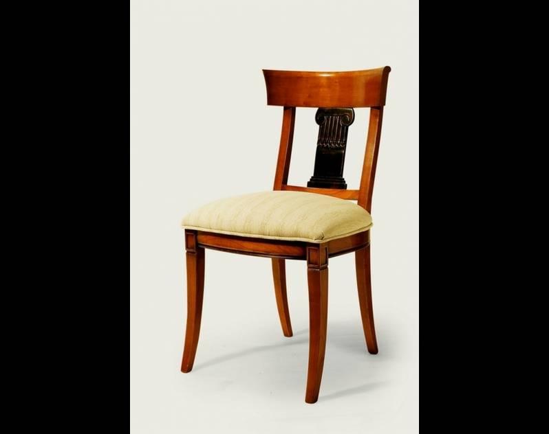 Silla de Comedor Modelo Roma fabricada en madera de Cerezo