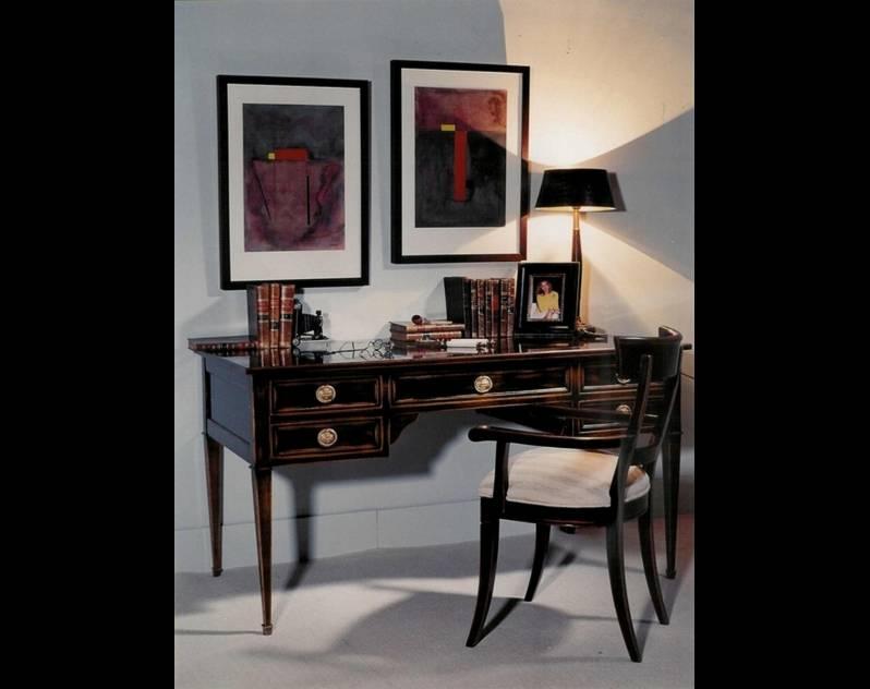 Mesa de Despacho Modelo Limoux fabricada en madera de Cerezo Francés
