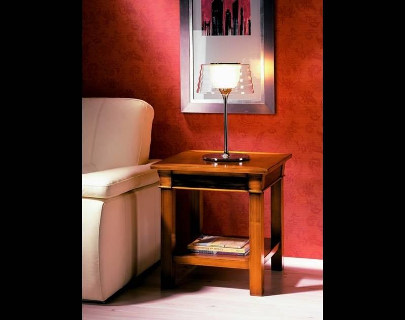 Mesa de Rincón Modelo Viena fabricada en madera maciza de Cerezo y Tilo