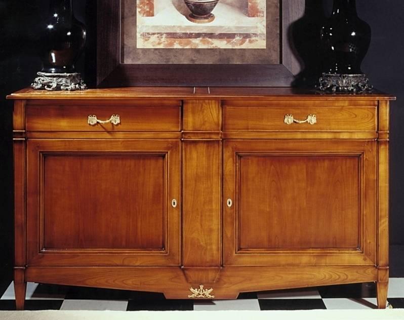 Aparador Modelo Limoux fabricado en madera de Cerezo Francés