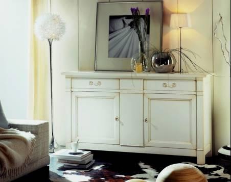 Aparador Modelo Limoux elaborado en madera de Cerezo Francés y Tilo