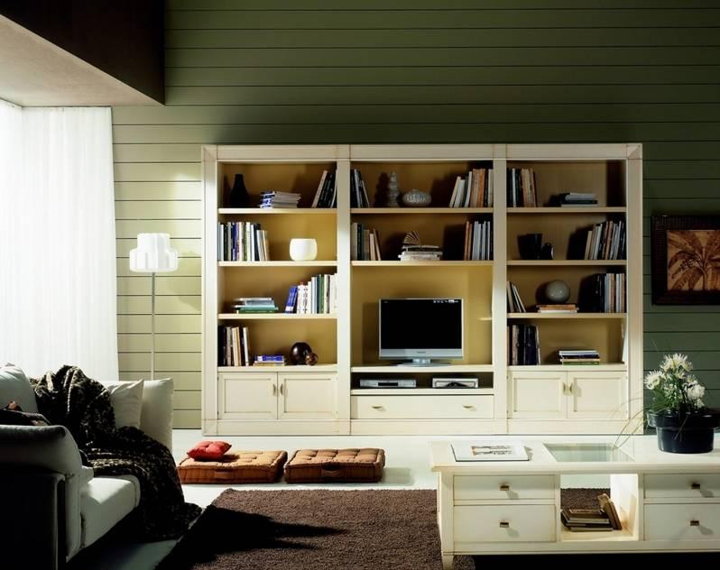 Mueble de TV Modelo Viena en madera maciza de Cerezo y Tilo