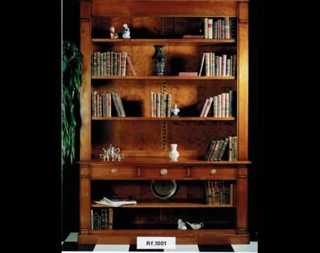Librería Abierta Modelo Limoux confeccionada en madera maciza de Cerezo Francés