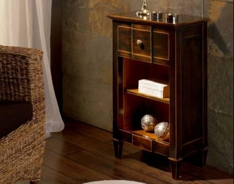 Mesita auxiliar Modelo Tívoli en madera maciza de Landa y Tilo