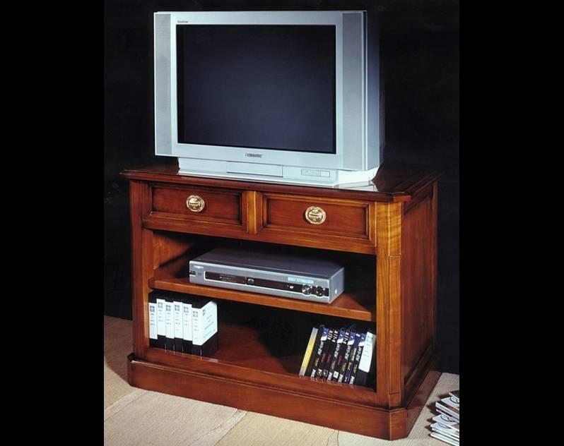 Mueble para TV Modelo Limoux fabricado en madera de Cerezo Francés