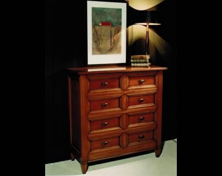 Cómoda Modelo  Limoux confeccionada en madera maciza de Cerezo