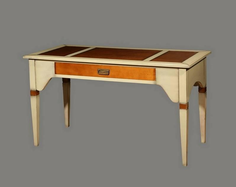 Escritorio modelo París elaborado con madera maciza de Cerezo y Tilo