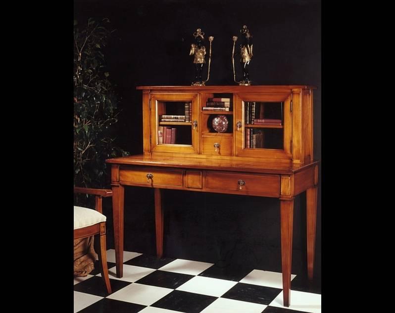 Escritorio Secreter fabricado en madera de Cerezo, Modelo Limoux