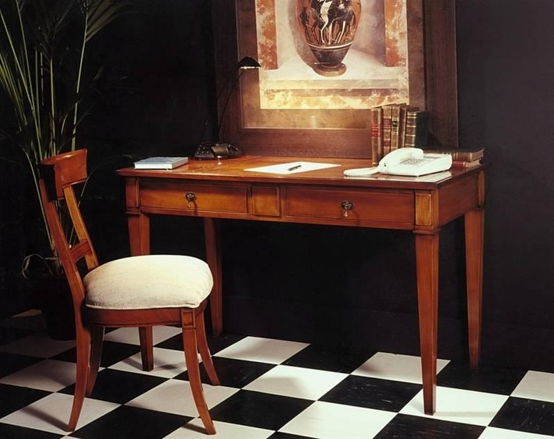 Escritorio Modelo Limoux elaborado en madera maciza de Cerezo y Tilo