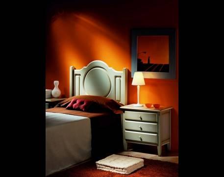 Conjunto de Dormitorio Juvenil fabricada en madera maciza de Landa