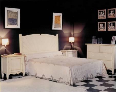 Conjunto de Dormitorio Modelo Palma elaborado en madera de Landa maciza