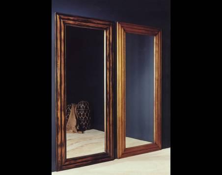 Espejo Modelo Limoux en madera maciza de Tilo y Cerezo Francés