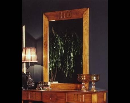 Espejo Modelo Limoux elaborado en madera maciza de Cerezo Francés